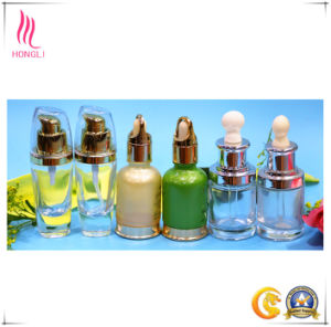 Hongli Essence Oil Bottle Clear Color Glass Bottle pictures & photos