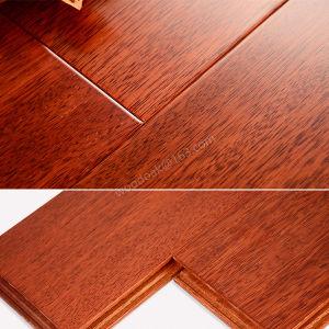 Solid Heating Hardwood Flooring Merbau Flat Wood Flooring pictures & photos