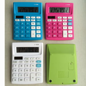 12 Digits Dual Power Desktop Calculator (LC240) pictures & photos