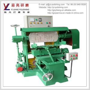 Metal and Stainless Steel Spoon Surface Grinding and Polishing Buffing Machine