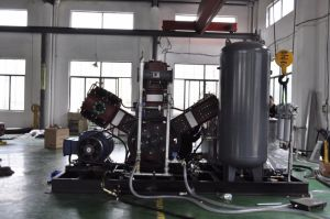 W Type Water Cooling Oil Free Air Compressor pictures & photos