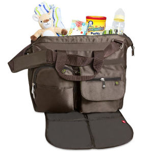 Fashion Mummy Baby Diaper Bags with Easy Changing Pad pictures & photos