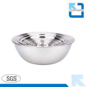 Multi-Size Stainless Steel Mixing Bowl Set pictures & photos