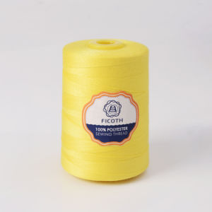 Wholesale Dyed 100% Spun Polyester Sewing Thread 20s/3 pictures & photos