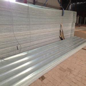 Fiberglass FRP Panel Sheet Skylight Roof Sheet-Semi-Transparent Corrugated Sheet pictures & photos