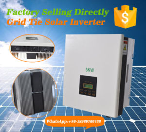 5kw Grid Tie Inverter with Pure Sine Wave Output Type pictures & photos