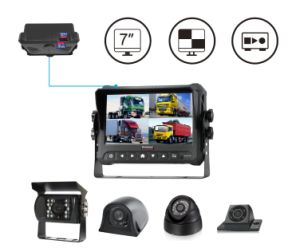 1080P Car Monitor with DVR Function Private Model, Touch Screen Optional pictures & photos