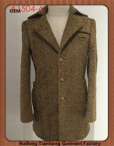 Bespoke Fashion Men Tweed Winter Coat