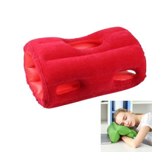 PVC Roller and Flat 2 in 1 Inflatable Nap Pillow pictures & photos