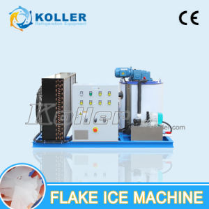 Easy Control 1000kg Ice Flake Making Machine for Fishery (KP10) pictures & photos