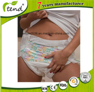 OEM ODM 100% Leakproof Superthick Cute Print Adult Baby Abdl Diaper Manufacturer pictures & photos
