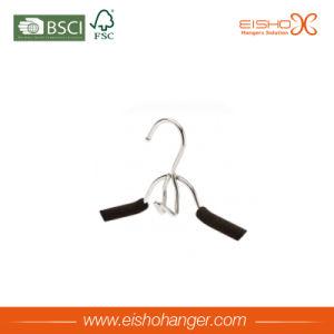 Black Rubber Foam Hanger for Clothes (TP809) pictures & photos