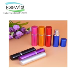 Colored Aluminum Perfume Bottle Pet Spray Bottle with Spray Pump pictures & photos