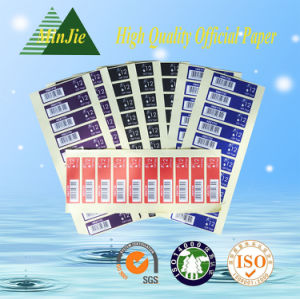 Laser Paper Material and Single Sided Adhesive Size A4 Laser Sheet Labels pictures & photos