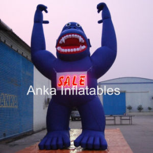 Giant Inflatable Cool LED Light Gorilla Model pictures & photos