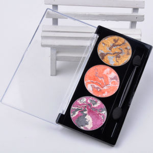 Eyeshadows Makeup 3D Eye Shadow Palette Beauty Cosmetic Set 3 Colors Es0323 pictures & photos