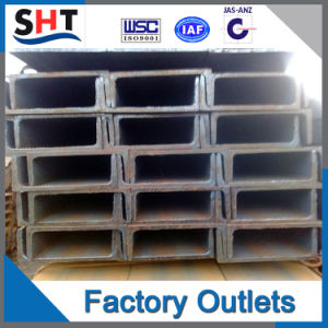 Hot Rolled Steel U Channel of Steel Profiles pictures & photos
