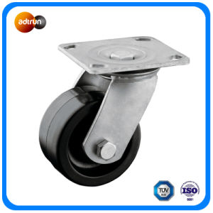 "Heavy Duty 4"" Swivel Rubber Casters pictures & photos"