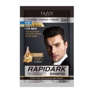 Rapidark Shampoo Hair Dye Natural Black pictures & photos