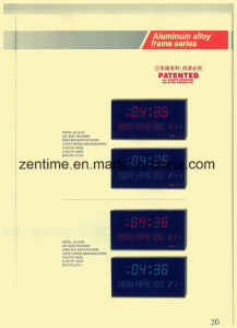Big Size LED Digital Wall Clock in Different Colors Hot Sell pictures & photos