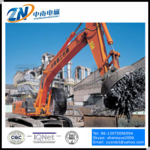 Dia-1500mm Circular Type Excavator Lifting Magnet for Lifting Scraps with 75% Duty Cycle Emw-150L/1-75 pictures & photos
