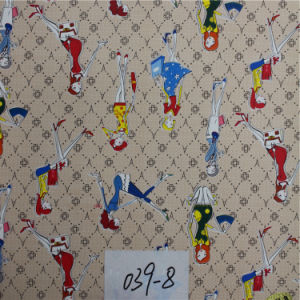 Professional Exporter of Artificial Printed Leather (HS039#) pictures & photos