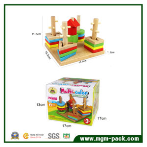 Eco-Friendly Lovely Educational Building Blocks Wooden Toys pictures & photos