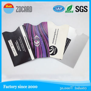 Anti Theft RFID Blocking Card Holder/Sleeve for Promotion Events pictures & photos