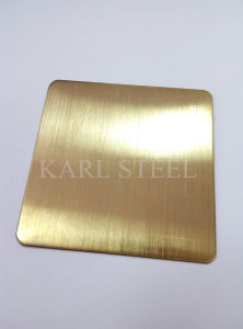 High Quality 201 Stainless Steel Color Sheet for Decoration Materials pictures & photos