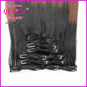 Wholesale Unprocessed Premium Brazilian Clip Hair pictures & photos