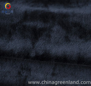 100% Polyester Micro-Velboa Spandex Knitted Fabric pictures & photos