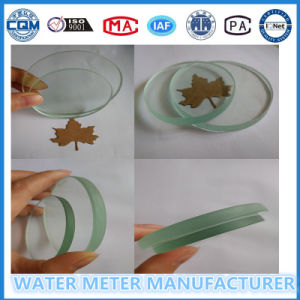 High Transparent Glass for Water Flow Meter Use pictures & photos