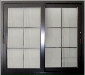 Fashionable Aluminum Sliding Windows