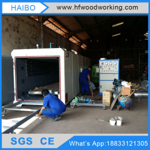 High Frequency Woodworking Machine New Condition Wood Vacuum Dryer