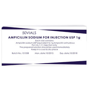 Western Medicine Ampicilin Sodium for Injection pictures & photos