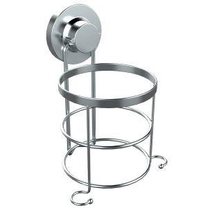 Stainless Steel Rubber Suction Hair Dryer Holder
