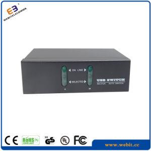 2 Ports USB&Audio Kvm Switch pictures & photos