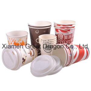 1.5-32 Ounce Hot Beverage Paper Cups and Lids (PC11010) pictures & photos