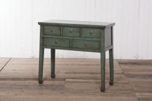 High-Quality and Original Table Antique Furniture with Drawers