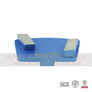 Scanmaskin Diamond Grinding Pad Shoe Plate Tools for Redi Lock Holder - 2 Bar Segments pictures & photos