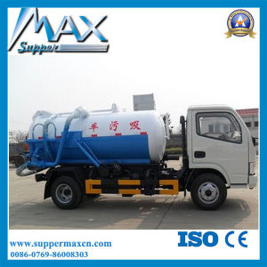 HOWO Suction Sewage Truck 118 Power 6t Loading pictures & photos