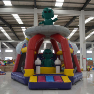 Inflatable Alien Bouncer (AQ01403) pictures & photos