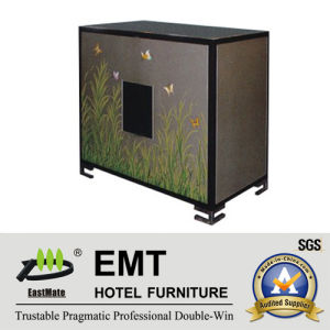 Solid Wood Hotel Public Area Furniture Vivid Painting Cabinet (EMT-DC05) pictures & photos