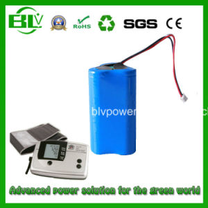 High Quality 11.1V 2600mAh Lithium Battery for Medical Products pictures & photos
