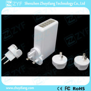 Replaceable Plug Universal Travel Adapter with USB Charger (ZYF9013) pictures & photos