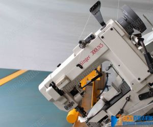 Mattress Tape Edge Machine with Chainstitch Sewing Head (BWB-4B) pictures & photos