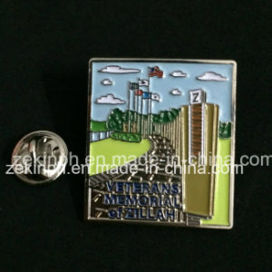 Custom Metal Lapel Pins with Butterfly Clutch pictures & photos
