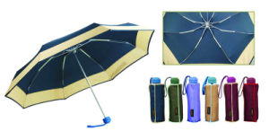 Border&Edge Compact Automatic Windproof Umbrella (YS-3FA22083960R) pictures & photos