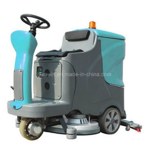 Large Capacity Vacuum Motor Ride on Floor Cleaning Machine pictures & photos