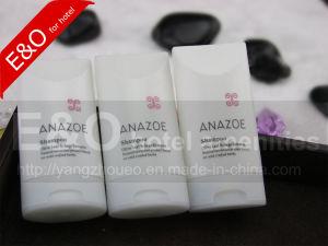 Hotel White Plastic Flip Shampoo Bottle pictures & photos